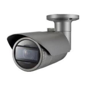 Caméra réseau Samsung WiseNet QNO-7080R 4 Mégapixels - Couleur, Monochrome - 30 m Night Vision - Motion JPEG, H.264, H.265 - 2592 x 1520 - 2,80 mm - 12 mm - 4,3x Optique - CMOS - Câble - Ogive