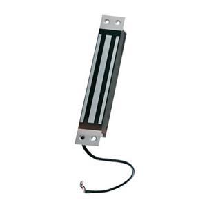 CDVI M300M Serrure magnétique - 300 kg Force de Maintien - Acier inoxydable, Aluminium anodisé satiné - Résistant aux intempéries, Résistant au Vandalisme