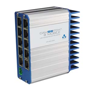 Switch POE 8 PORTS mobile Veracity CAMSWITCH 12/24 VDC