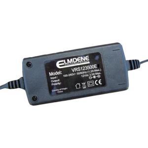 Adaptateur secteur Elmdene Vision - 120 V AC, 230 V AC Input Voltage - 12 V DC Tension de Sortie - 3,50 A Courant de Sortie