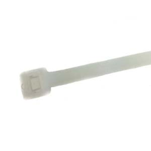 ATTACHE DE CABLE 200mmx4,8mm BLANC 100x