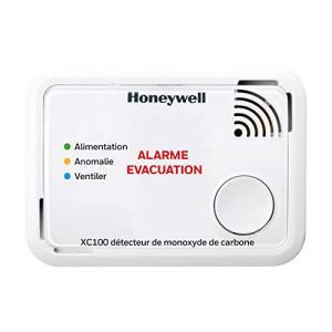 Détecteur Autonome De Monoxyde De Carbone Honeywell Interface Xc100 10 Ans